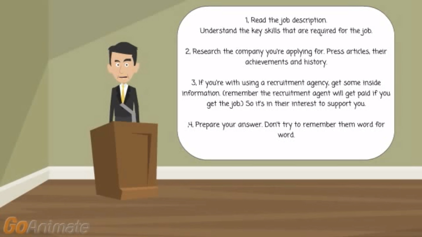 Interview Skills – MUST do before an interview!