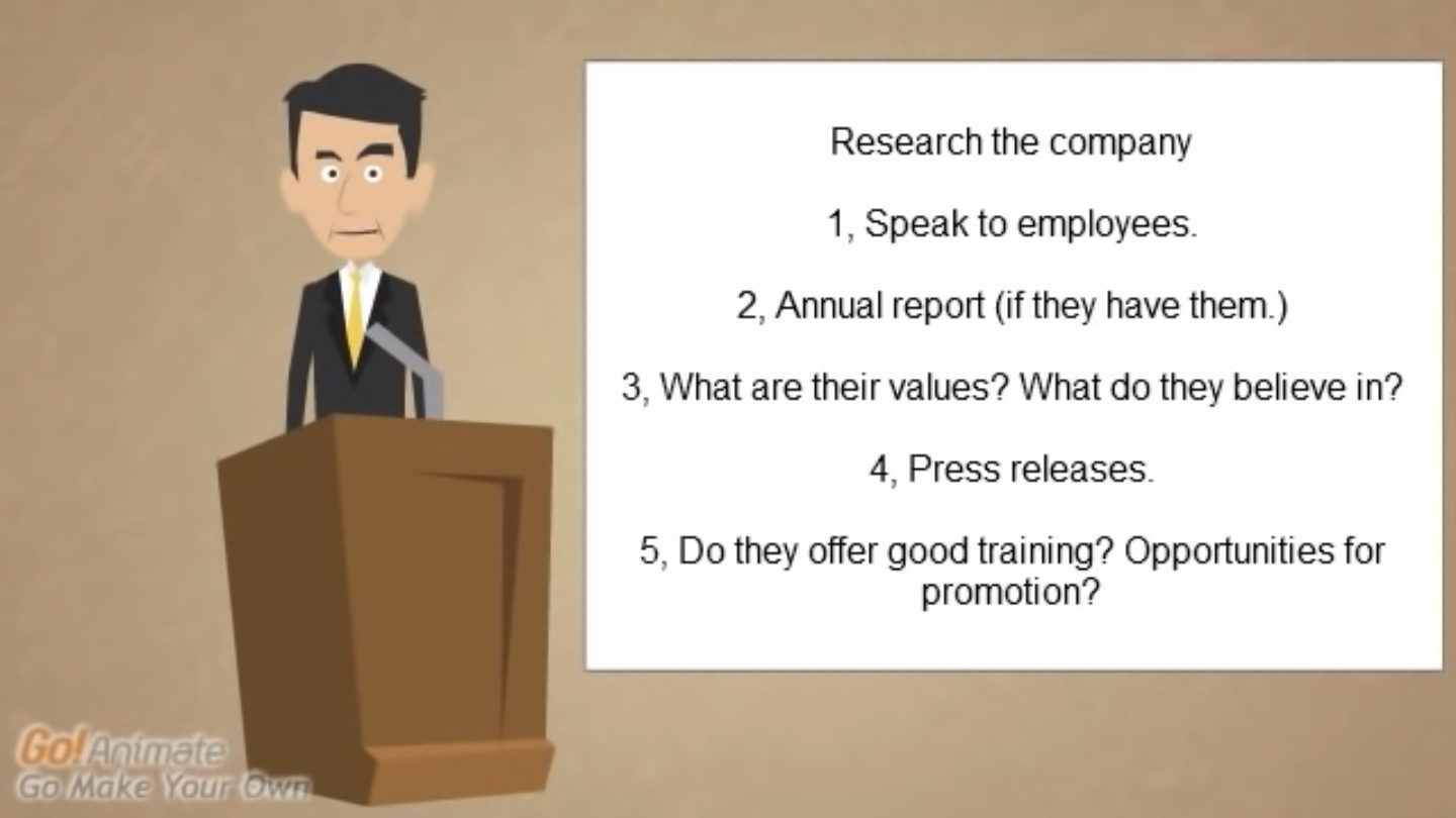 Interviews Skills – Why do you want to work here? Professional expert
