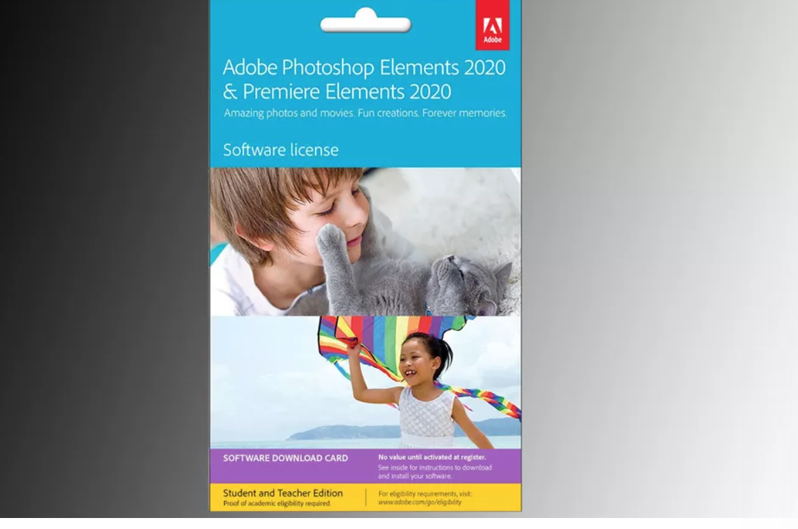 Teachers and students take note: Get Adobe Photoshop Elements and Premiere